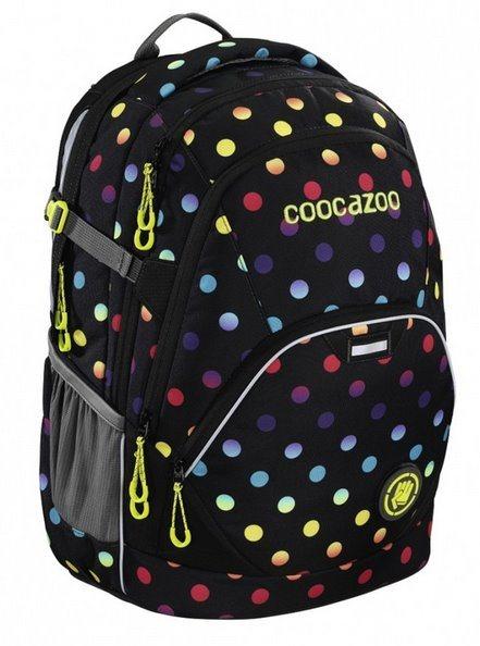 COOCAZOO Školní batoh EvverClevver puntíky