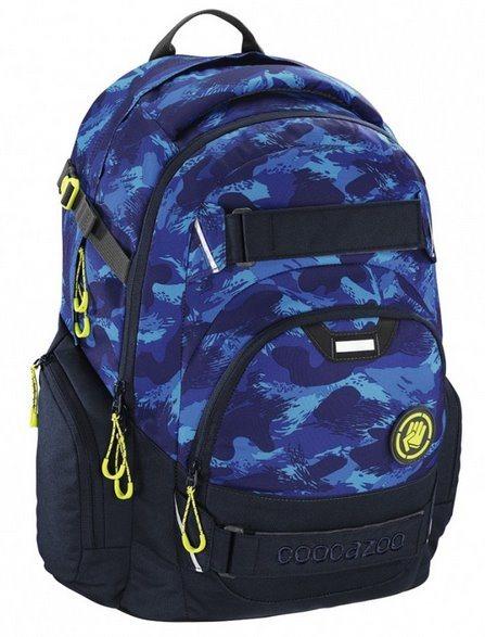 COOCAZOO Školní batoh CarryLarry modrý