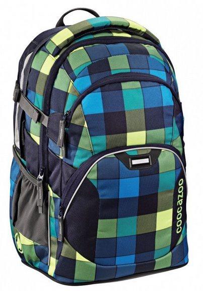 COOCAZOO Školní batoh JobJobber modrozelený