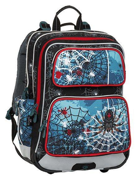 BAGMASTER Školní batoh GALAXY pavouk