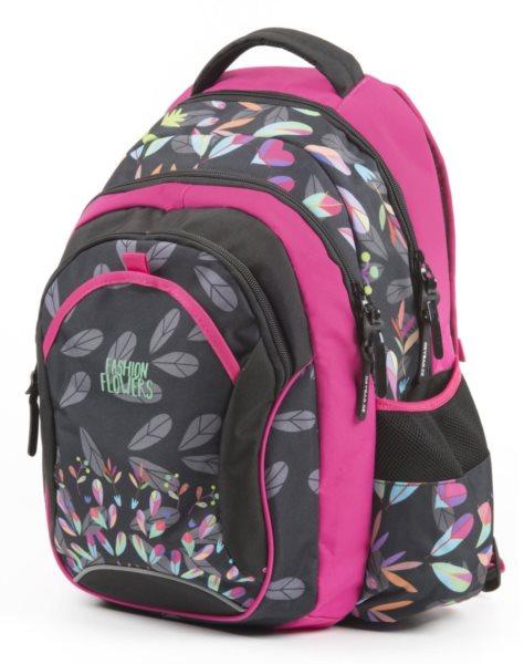 OXYBAG Školní batoh Fashion Flowers 8ee3c62362