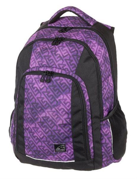 cb93a66b668 WALKER Školní batoh HAZE Violet
