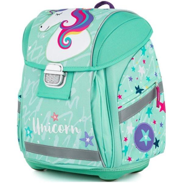 OXYBAG Školní batoh Premium Light Unicorn iconic