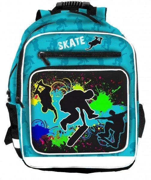 BONAPARTE Školní batoh Skate (3-komorový)