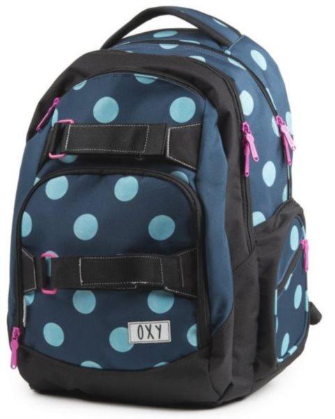 d066b30376b OXYBAG Školní batoh Style Dots