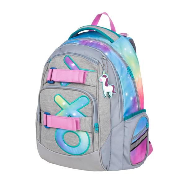 OXYBAG Školní batoh Style mini rainbow