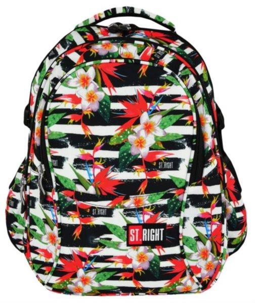 ST.RIGHT Školní batoh Tropical