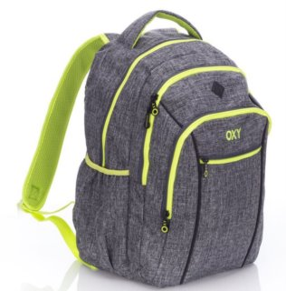 12c3e2dcd18 OXYBAG Školní batoh Two Grey