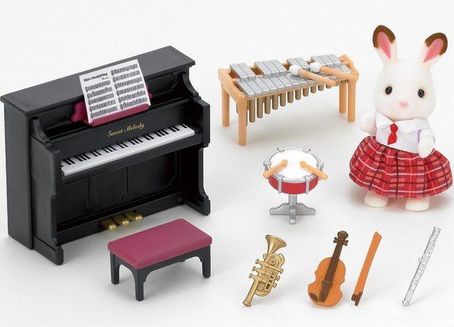 Sylvanian Families 5106 Školní hudební set