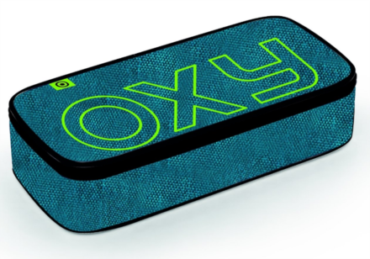 OXYBAG Školní penál etue komfort OXY Blue,green