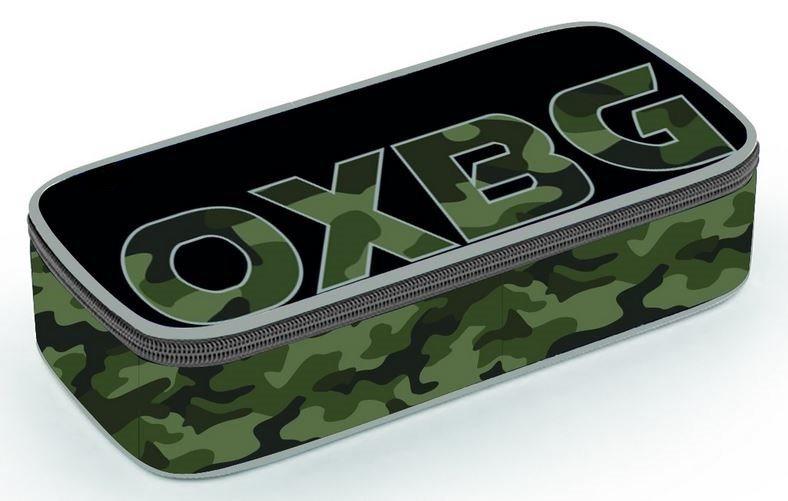 OXYBAG Školní penál etue komfort jednopatrový Army