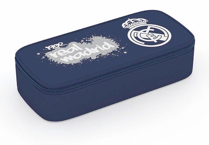 OXYBAG Školní penál etue komfort jednopatrový Real Madrid