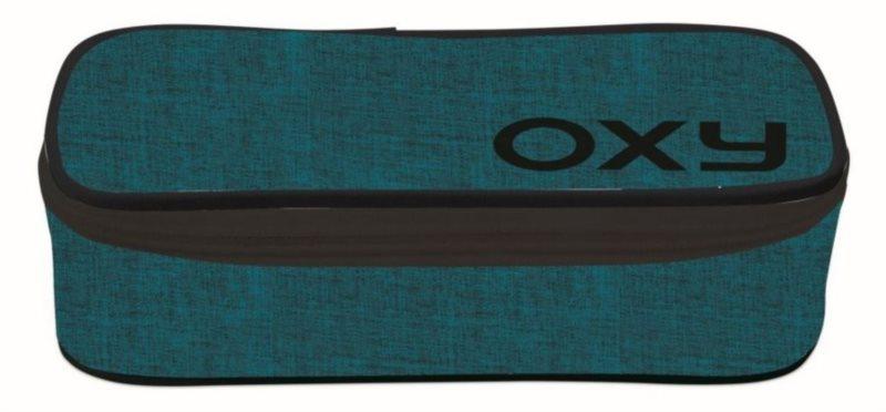OXYBAG Školní penál etue komfort jednopatrový Style Blue