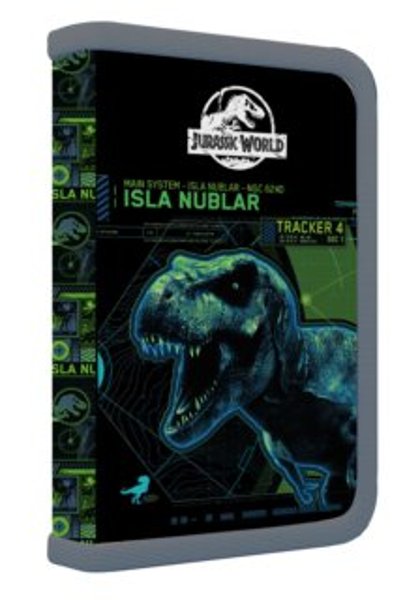 OXYBAG Školní penál jednopatrový Jurassic World