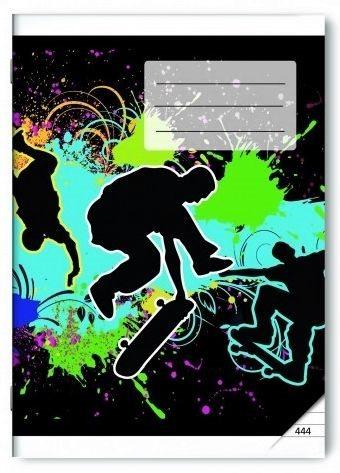 BONAPARTE Školní sešit 444 Skate
