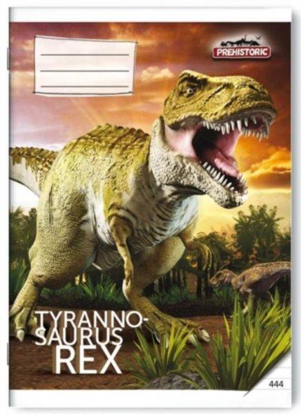 Školní sešit 444 Prehistoric