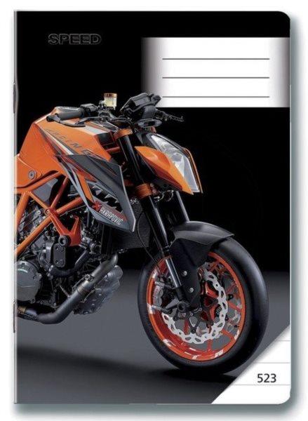 BONAPARTE Školní sešit 523 Moto Speed