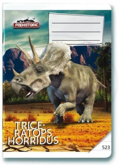 Školní sešit 523 Prehistoric
