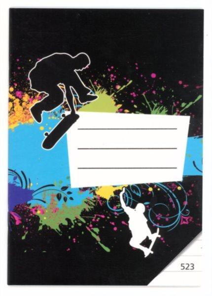 BONAPARTE Školní sešit 523 Skate