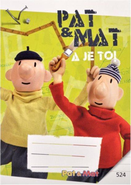 Školní sešit 524 Pat a Mat