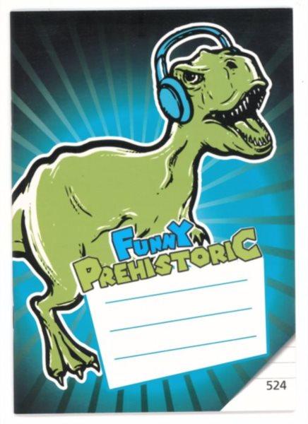 Školní sešit 524 Prehistoric Funny