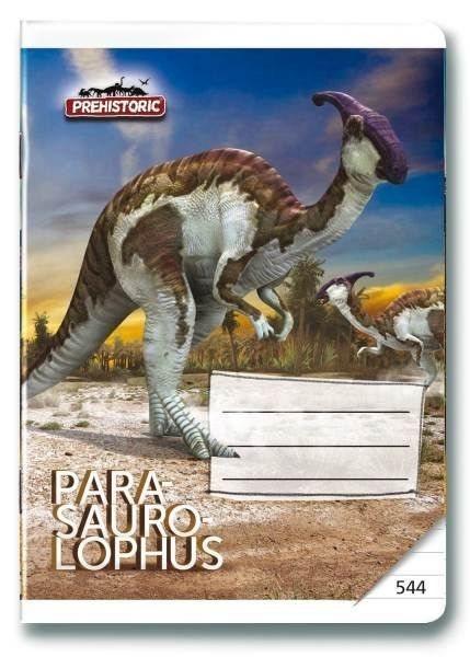 Školní sešit 544 Prehistoric