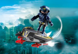 Playmobil 9086 Sky Knight a lhoverboard