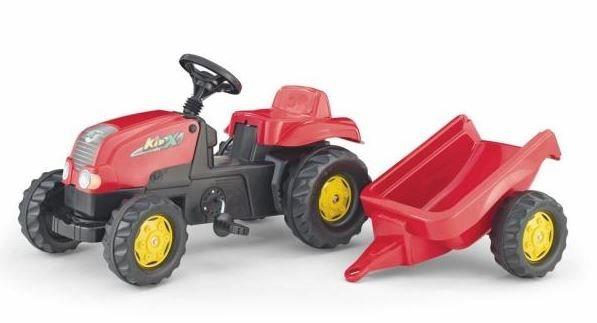 ROLLY TOYS Šlapací traktor Zetor s přívěsem