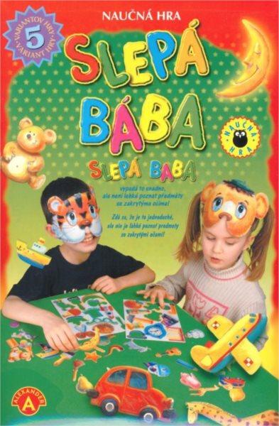 Naučná hra pro děti: Slepá bába
