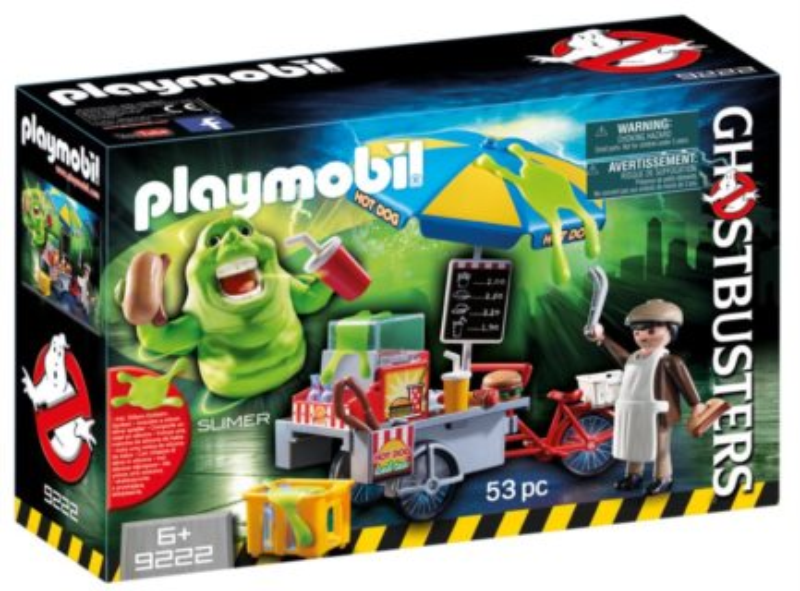 PLAYMOBIL® Ghostbusters 9222 Slimer u stánku s hotdogy