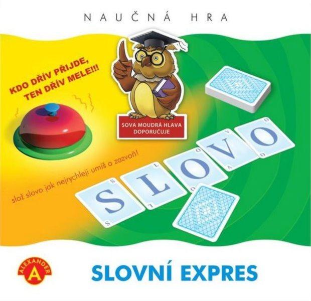 ALEXANDER Dětská vzdělávací hra Slovní expres