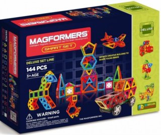 MAGFORMERS Smart set 144 dílků
