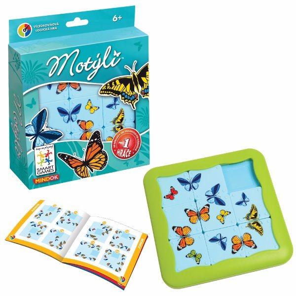 Společenská hra SMART Motýli, MINDOK
