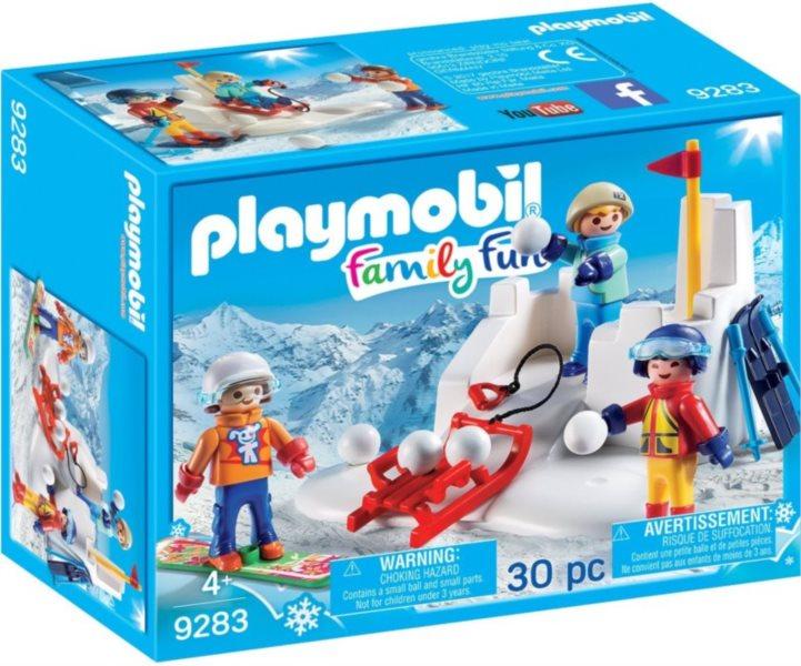 PLAYMOBIL Sněhová bitva 9283