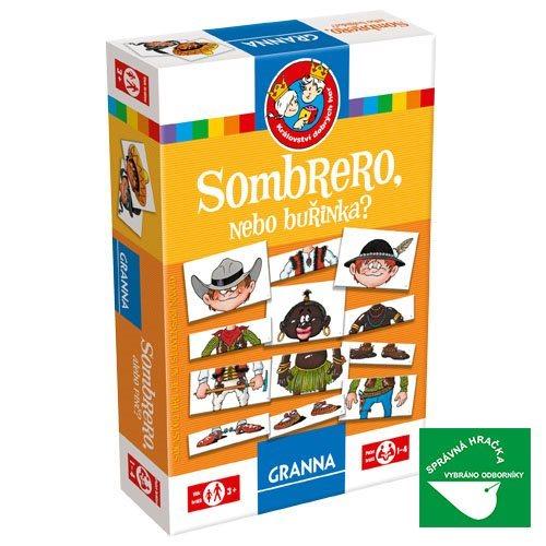 Vzdělávací hra GRANNA Sombrero, nebo Buřinka?