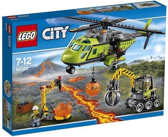 Stavebnice LEGO® City Sopečná zásobovací helikoptéra 60123