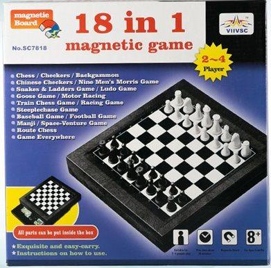Magnetický soubor her 18v1