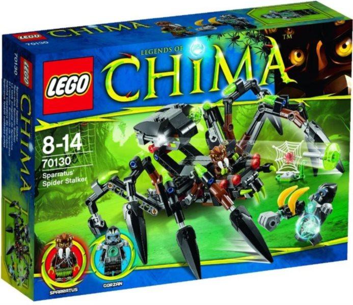 Stavebnice LEGO® Chima 70130 Sparratův pavoučí stopař