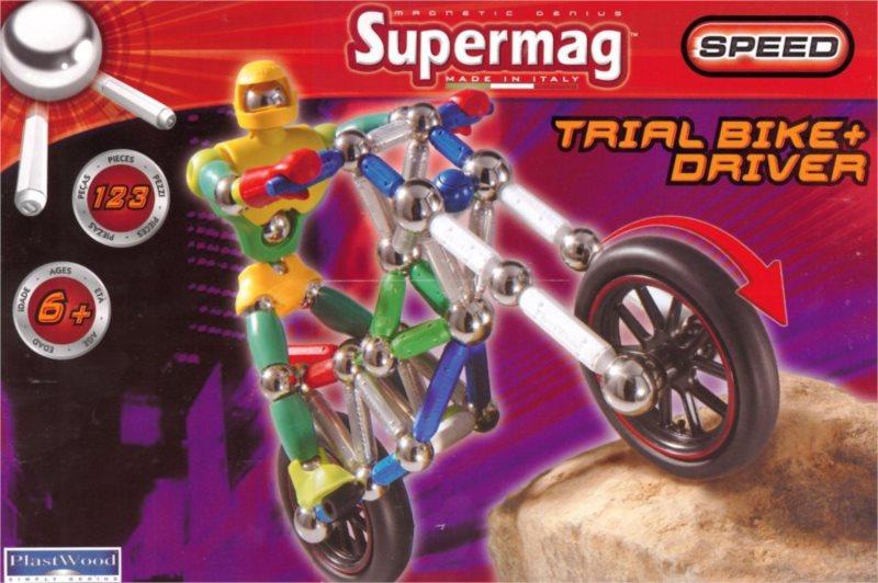 Supermag Speed: Motorka s řidičem