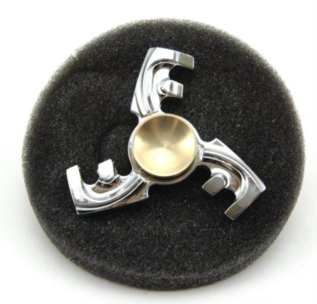 Spinner Hřeben kovový v plechové krabičce