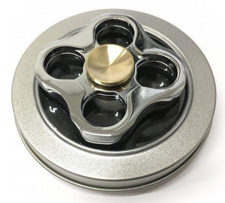 Spinner Boxer kovový v plechové krabičce