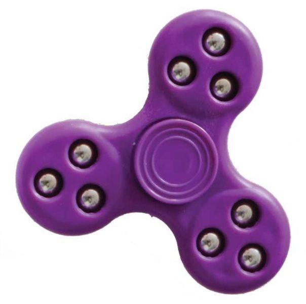 Spinner plastový fialový