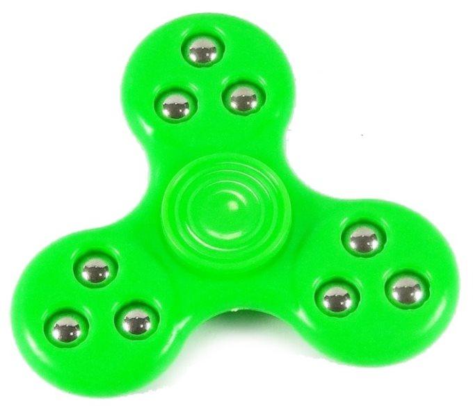 Spinner plastový zelený
