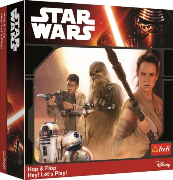 TREFL Hry Star Wars 2v1: Hop & Flop a Hey! Let's Play!