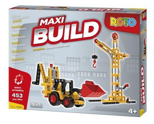 Dětská stavebnice ROTO Maxi BUILD, 453 dílků, EFKO