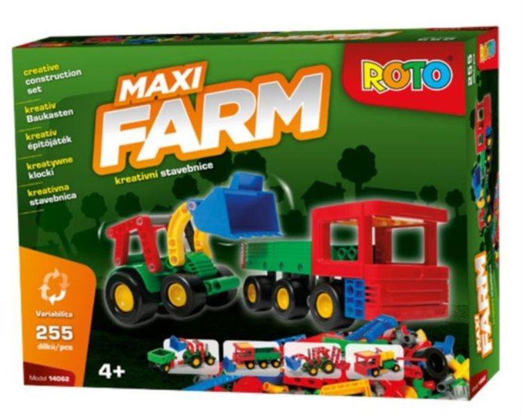 Dětská stavebnice ROTO Maxi FARM, 255 dílků, EFKO