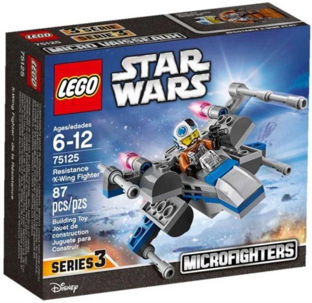 Stavebnice LEGO® Star Wars 75125 Stíhačka X-Wing Odporu
