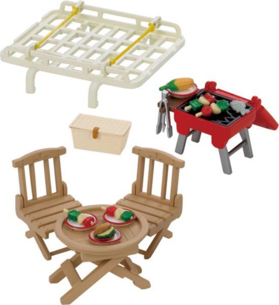 Sylvanian Families 2884 Střešní nosič se sadou na piknik