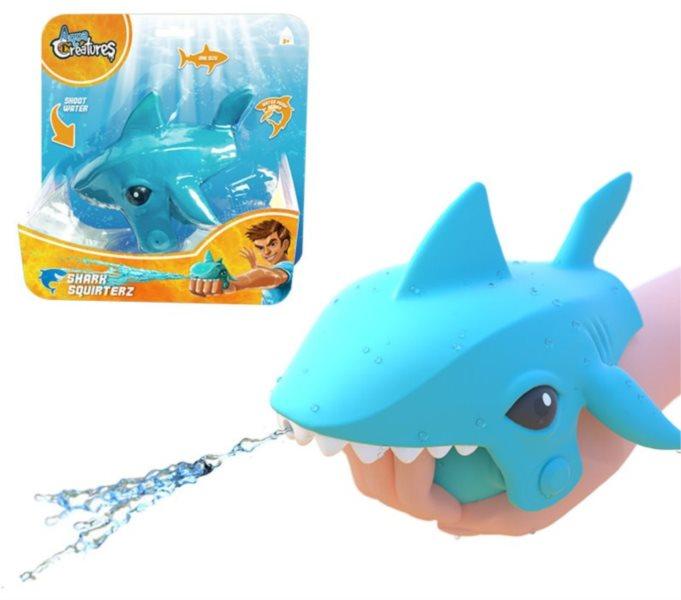 Stříkací žralok modrý