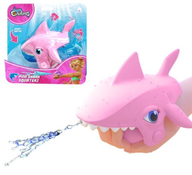 Stříkací žralok růžový